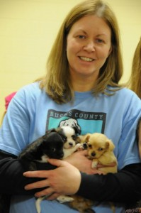 Shelter Manager Melissa Frank is devoted to making the shelter experience easier for the animals.